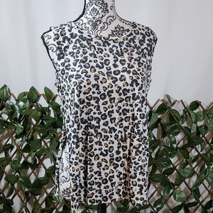 True Religion Leopard Top